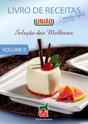 Livro Receitas União Seleção das Melhores Sobremesas vol 2