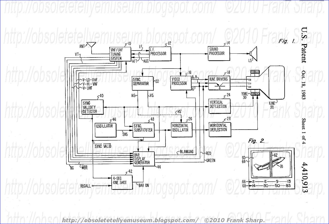 obsolete technology tellye    phonola  philips  66k6528