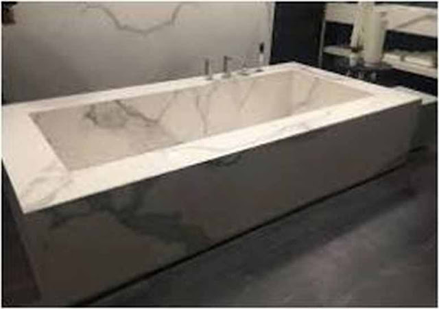 Emperador Dark Marble Bathroom Ideas ED 1M