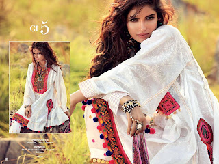 Gul Ahmed Gypsy EID Lawn Collection 2017