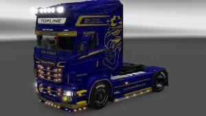 Gottland skin for Scania RJL
