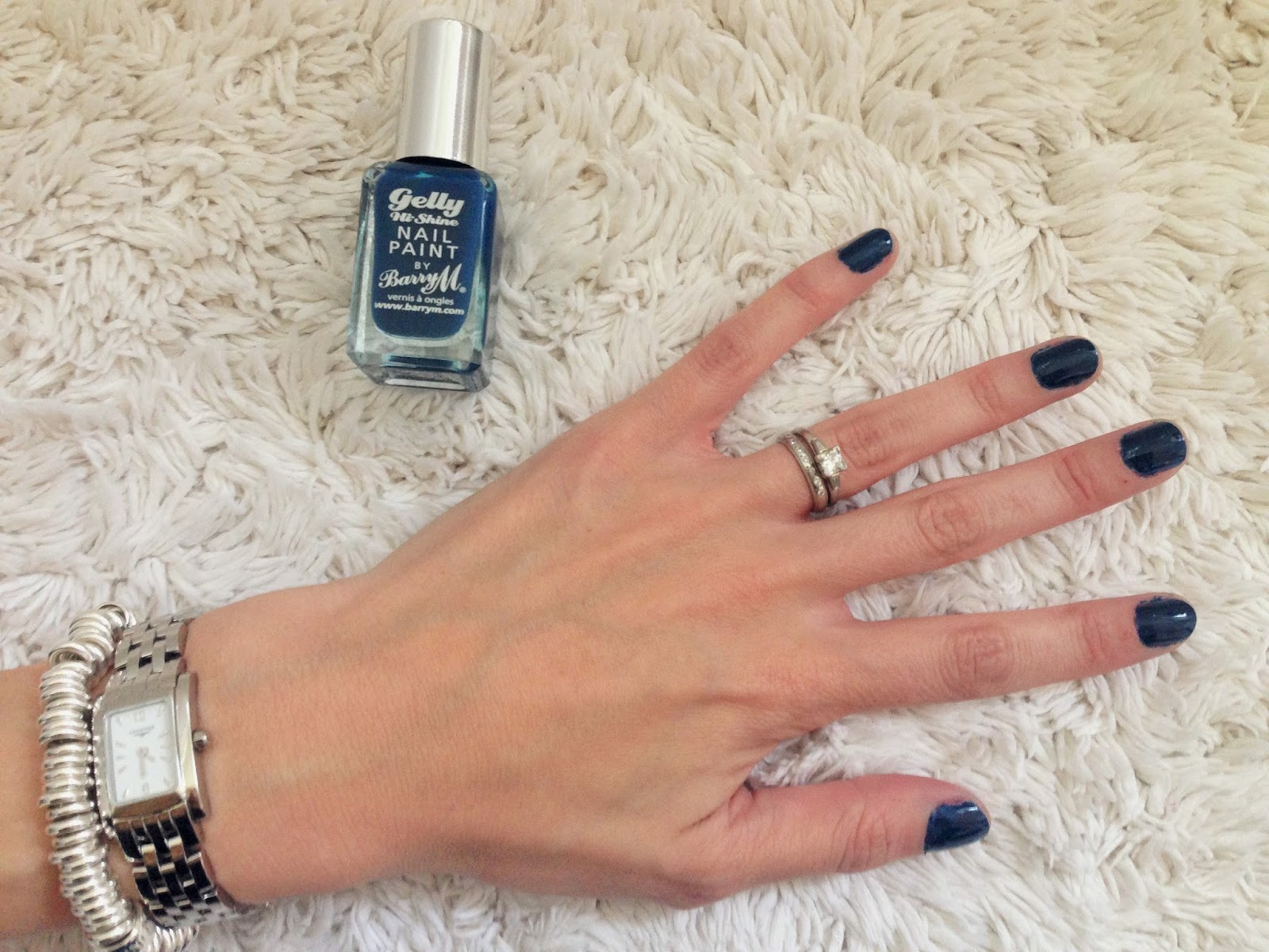 Barry M Gelly Nail Effects in Blackberry