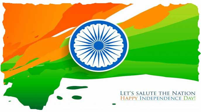 Independence day salute image