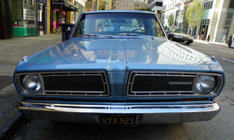 California Streets San Francisco Street Sighting 1968