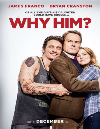 Poster Of Why Him? 2016 English 700MB HDCAM  Free Download Watch Online world4ufree.org