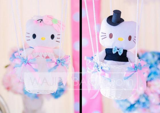 Kata Siapa Cuma Buat Anak Kecil Hey Ide Pelaminan Hello Kitty Ini