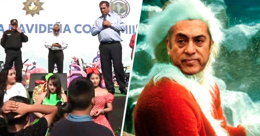 Gobernador mexicano les dice a niños que Santa es su papá