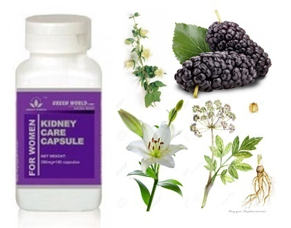 Obat Kidney Care Capsule For Women