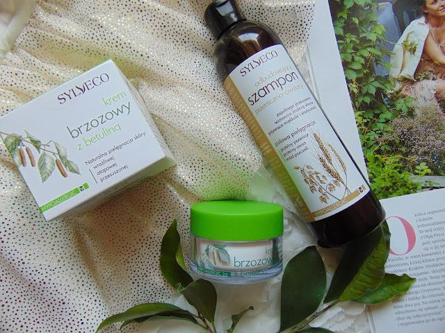 Kosmetyki Sylveco - Odbudowujący szampon i Krem brzozowy z betuliną