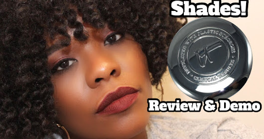 IT Cosmetics Confidence in a Compact Solid Serum Foundation Shade Deep Demo & Review