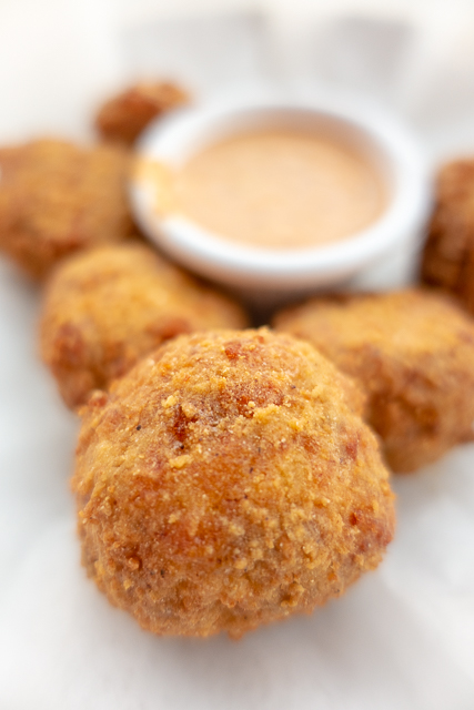 Boudin Balls - Harry's Bar and Grill - St. Augustine, FL