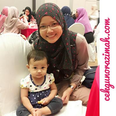 dhia zahra, anak CN, bayi 11 bulan