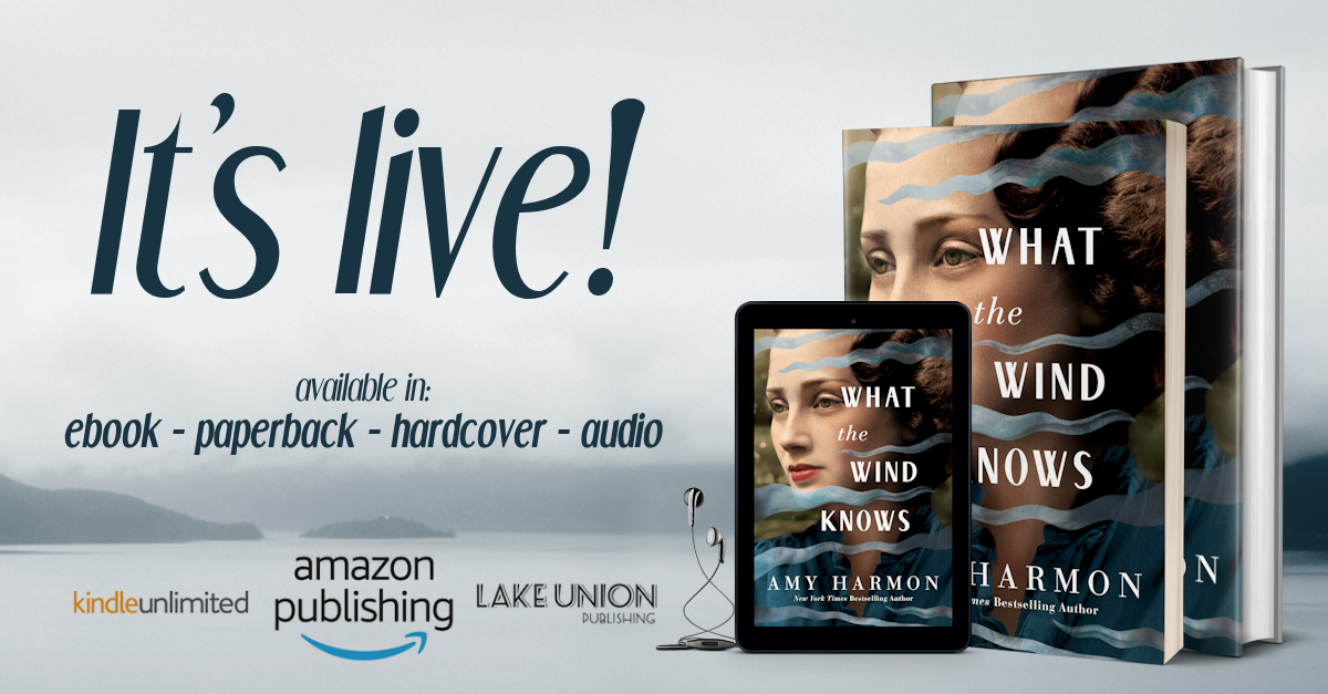 f4dc3927 Once Upon a Twilight!: Book Release & Giveaway: What the Wind Knows ...
