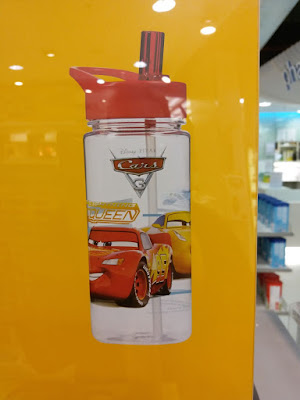 Cars 3 Promotional Water Bottle: A smart Marketing Trick