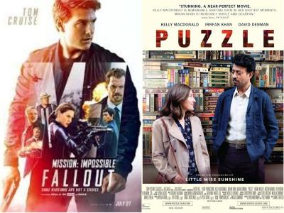 It's Tom Cruise vs Irrfan Khan at US box office as Mission: Impossible - Fallout clashes with Puzzle