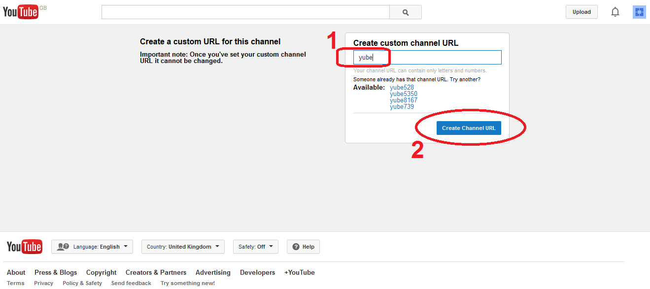 How to Create a Custom YouTube Channel URL | OnViral net