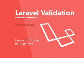 How to use Validation in Laravel 5.3