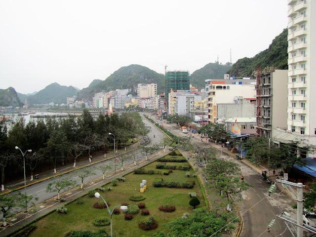 cat ba town halong bay vietnam