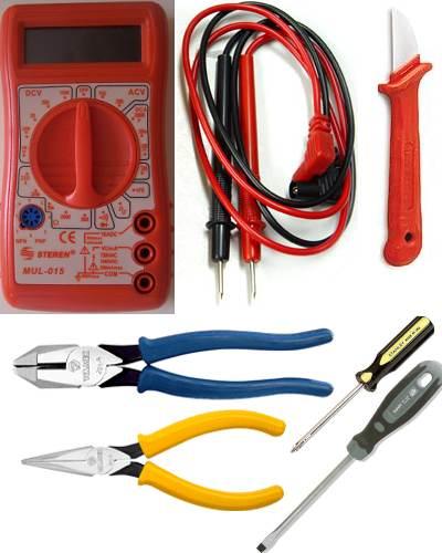 Herramientas básicas de electricidad