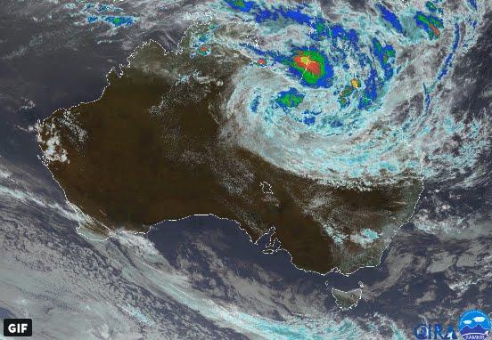 Allerta Meteo in Australia a causa di alluvioni catastrofiche.