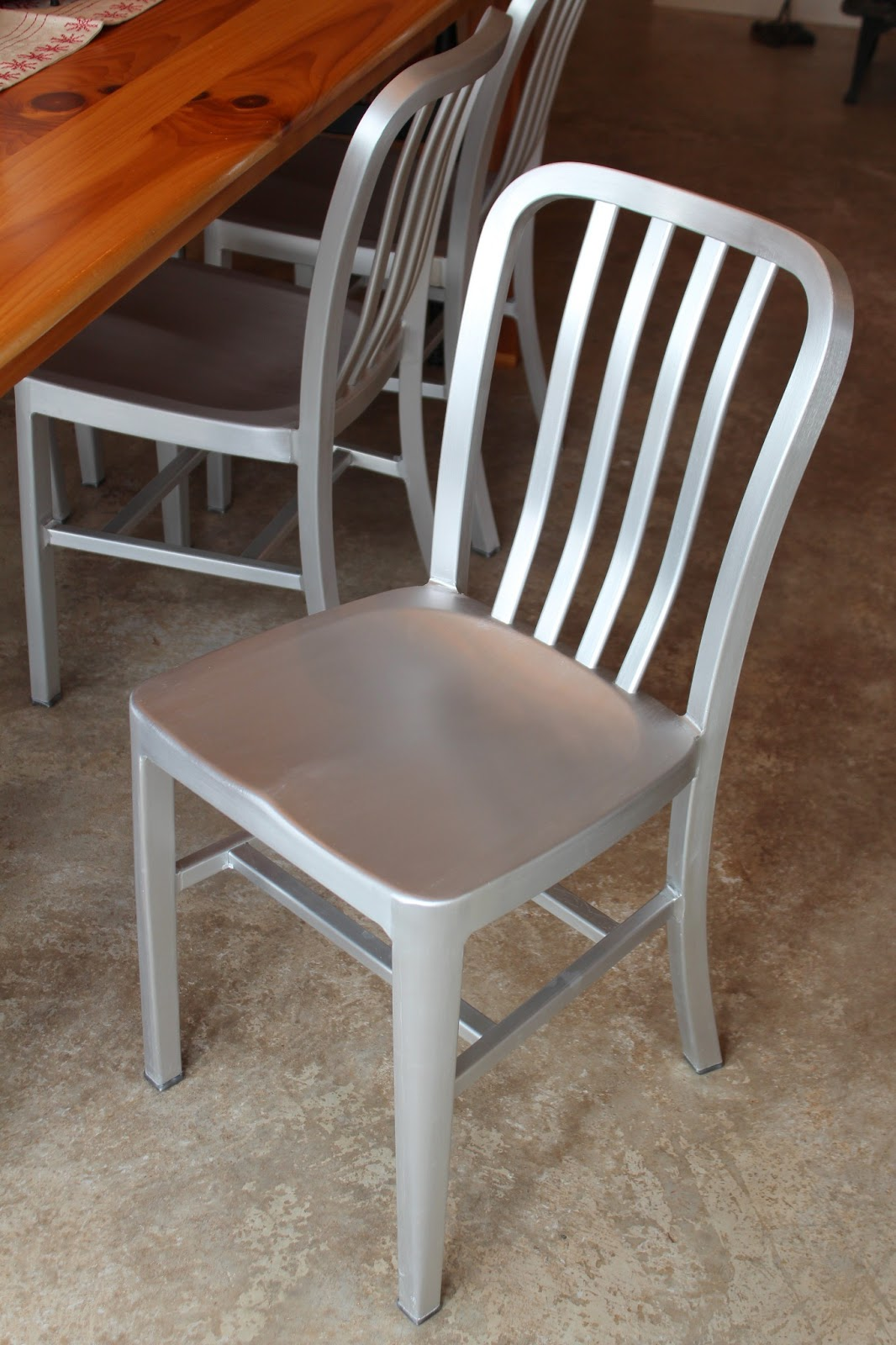 Metal Farmhouse Chairs High Backed Office Uk Aluminum Dining