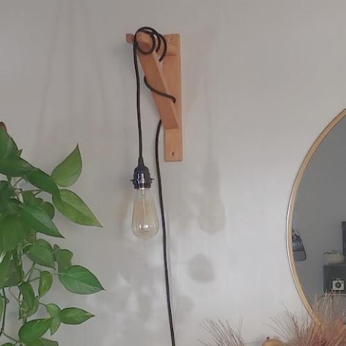 DIY Bracket Wall Sconce Light
