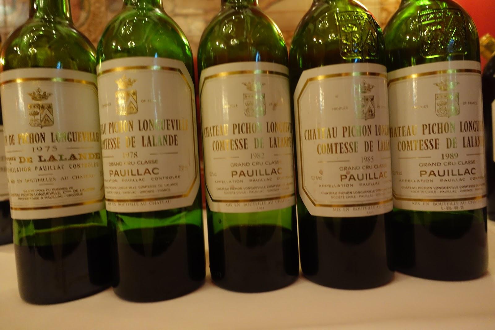 schiller-wine: Massive (16 Vintages) Tasting of Château