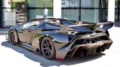 Les voitures les plus rapides du monde - Lamborghini Veneno (221 Mph)
