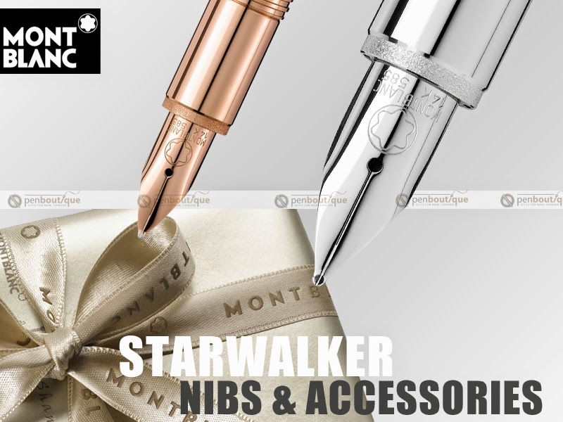 Montblanc Starwalker Nibs and Accessories