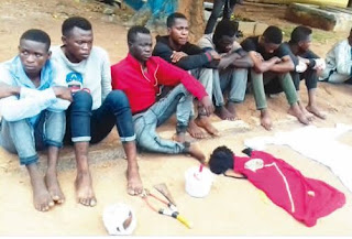 mpbaseblog: Vice President of the Federal Polytechnic Offa Students' Union Government arrested for cultism