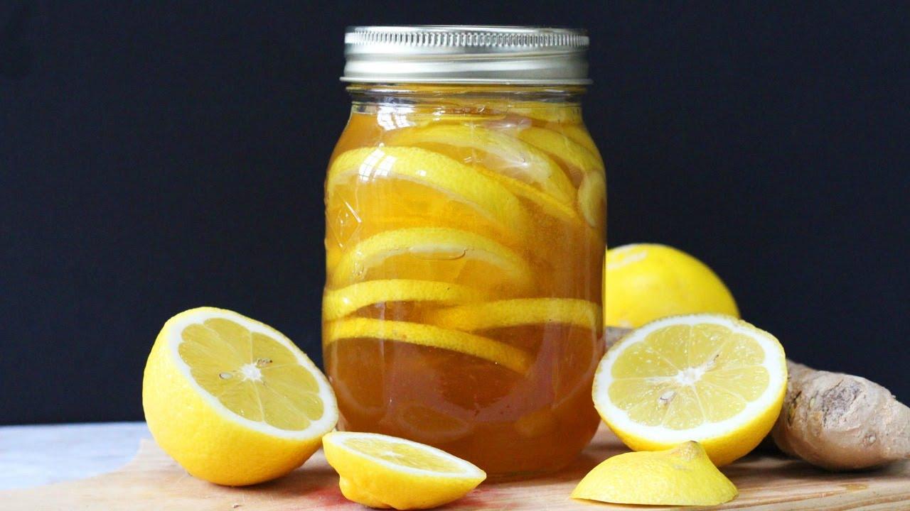 te jengibre limon y miel