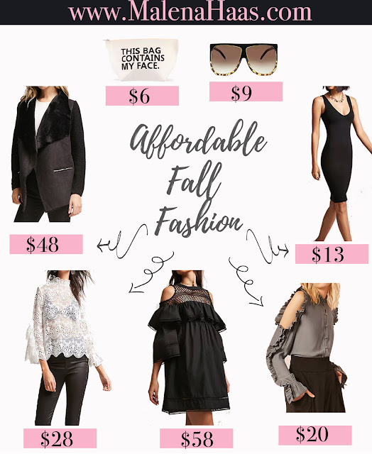 Affordable Fall Fashion Must Haves www.MalenaHaas.com