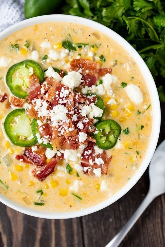 Mexican Street Corn Soup