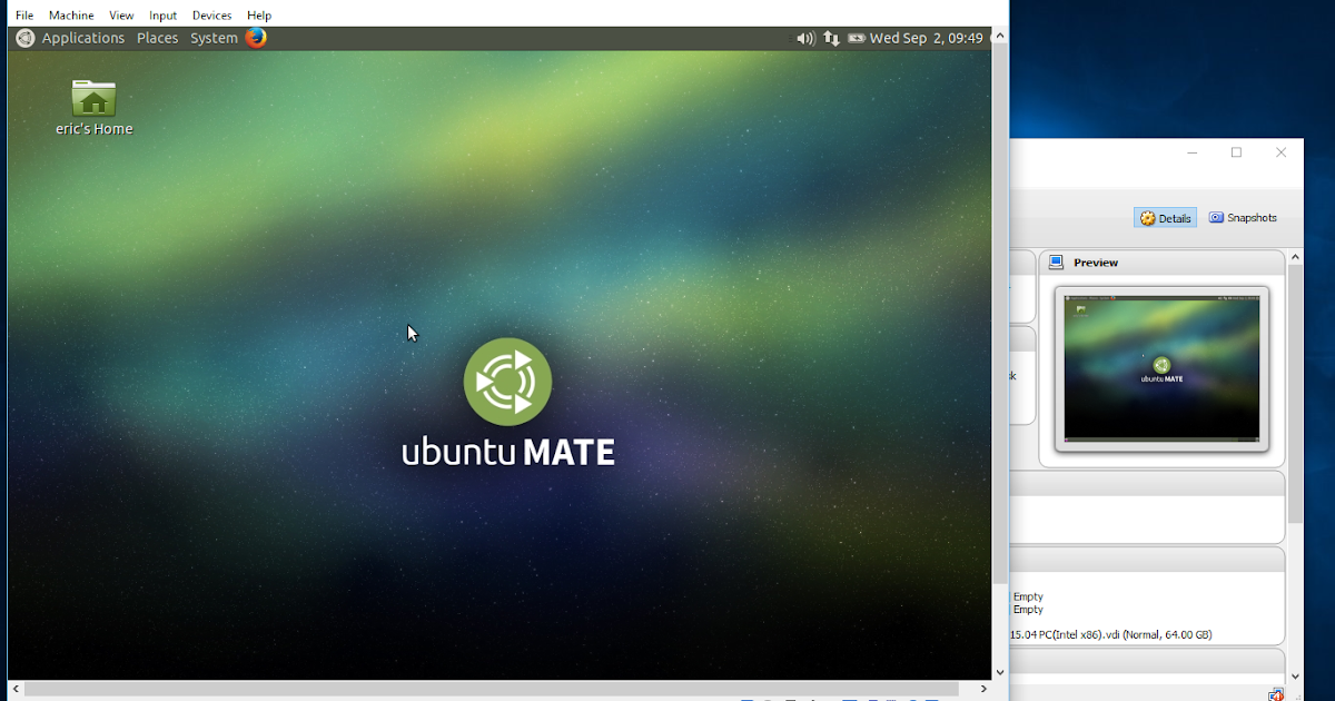 Android-er: Install Ubuntu MATE 15 04 on Windows 10/VirtualBox