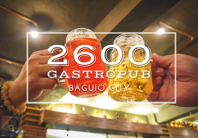 2600 Gastropub is the Best Place to Chill in Baguio