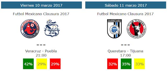 Tendencias y pronosticos de la jornada 10 del futbol mexicano
