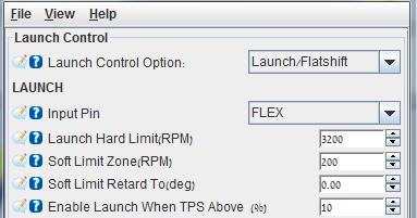 Mega Miata: Flatshift and Launch control - 2 step