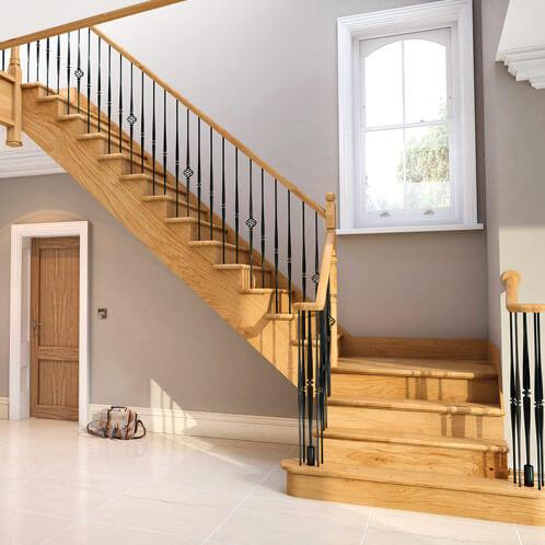model tangga rumah minimalis terbaru