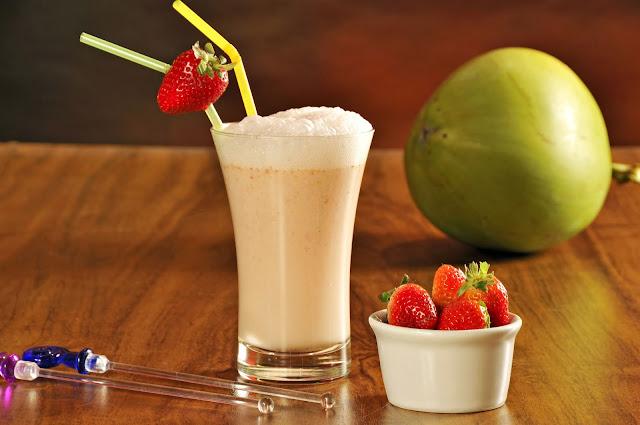receita água de coco