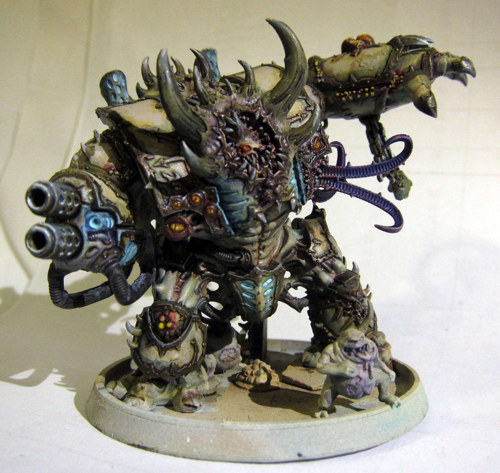 Plebicidal: Up to my neck in Nurgle!