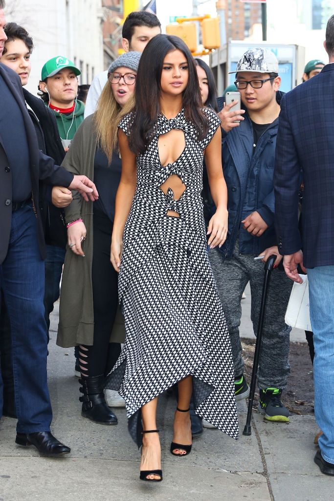 Selena Gomez Arriving at Her Hotel in Soho, NYC