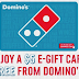 EXPIRED!! Free $5 Domino's Pizza Gift Card - First 25,000