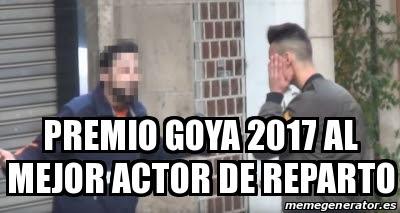 Premio Goya mejor actor de reparto