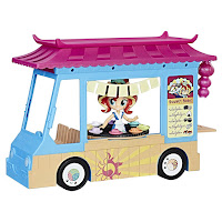 My Little Pony Eg Minis Sunset Shimmer Sushi Truck