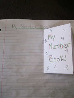 photo of exploring numbers math journal entry @ Runde's Room