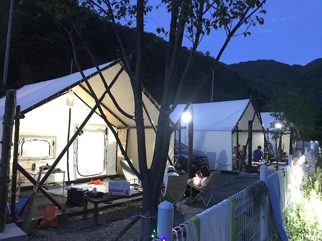 홍천 동산애견펜션, 글램핑장