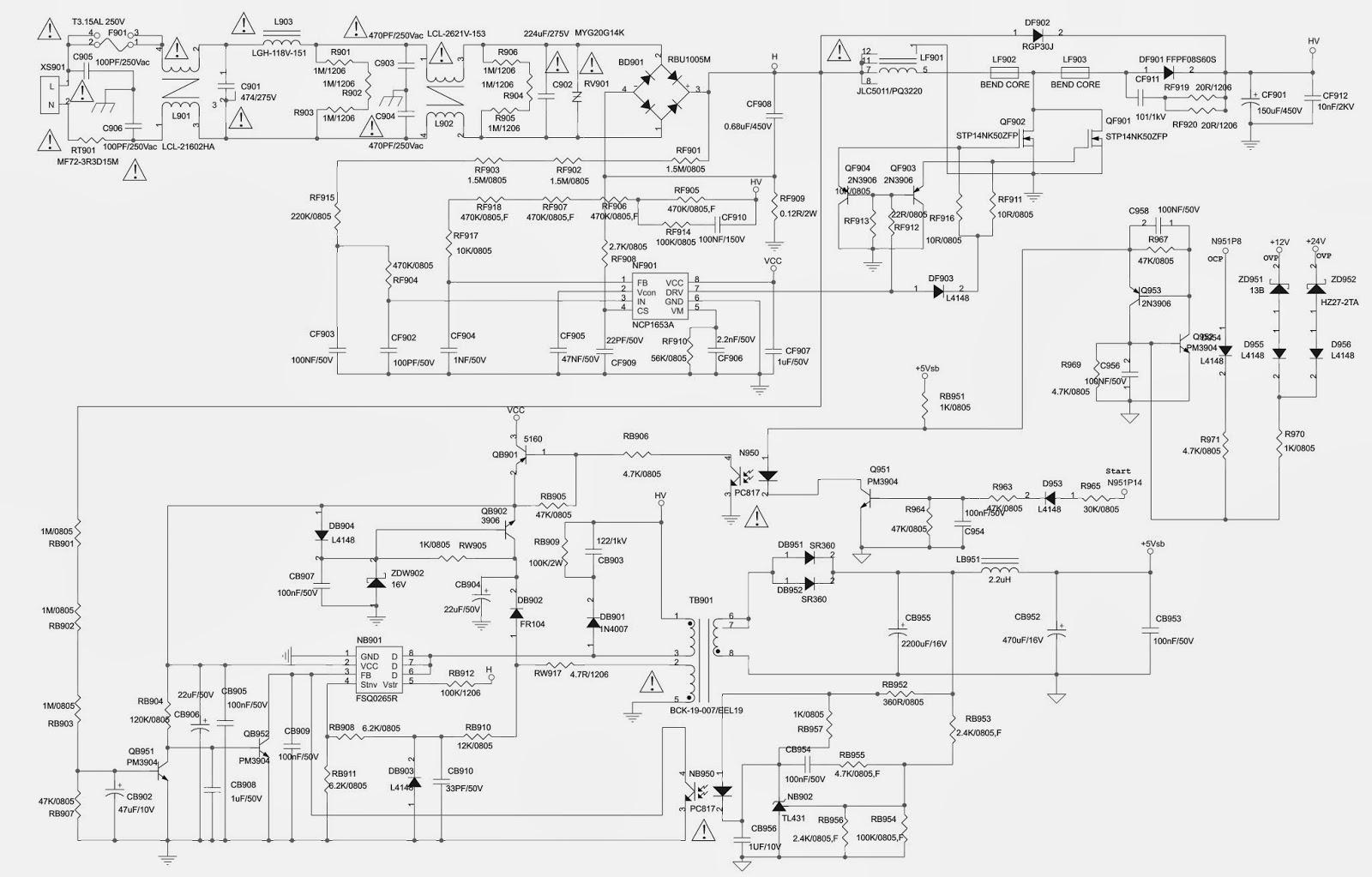 medium resolution of toshiba xv550xv600da lcd tv power supply schematic circuit diagram toshiba tv wiring diagram toshiba tv wiring diagrams