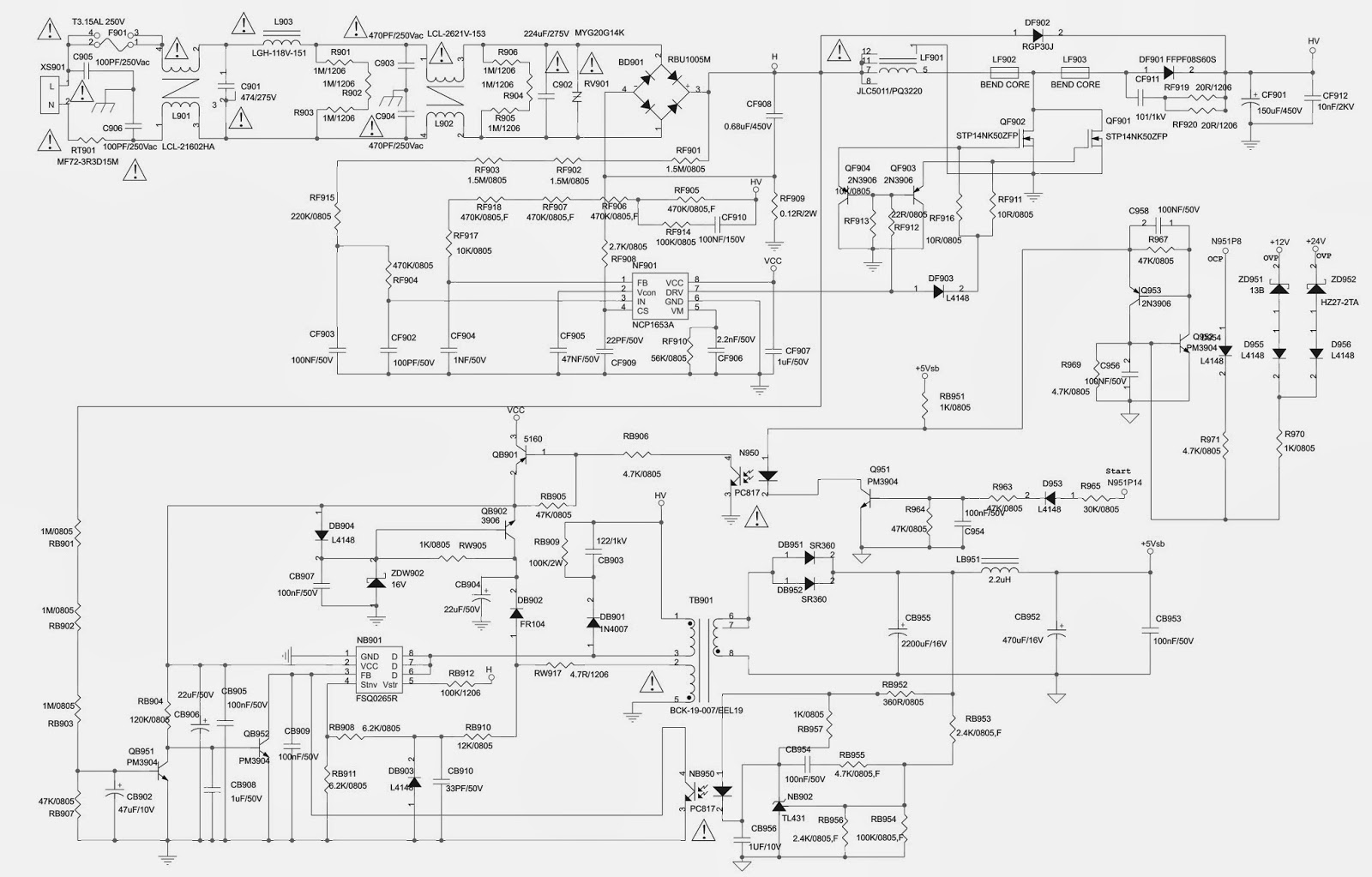 toshiba xv550xv600da lcd tv power supply schematic circuit diagram toshiba tv wiring diagram toshiba tv wiring diagrams [ 1600 x 1023 Pixel ]