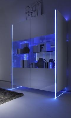 Madie moderne: design e vetro arredano il vostro soggiorno