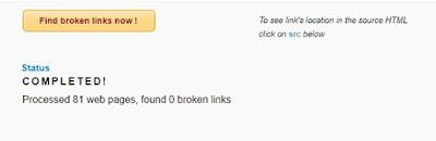 Online Broken Link Checker3